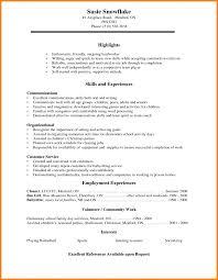 High School Senior Resume Itacams E58d780e4501