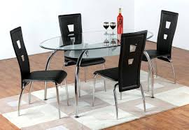 oval glass dining table. Incredible Dining Room Glass Oval Table Astounding Silver Modern Metal Varnished Ideas.jpg I