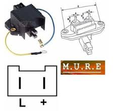 v paris rhone valeo alternator voltage regulator renualt peugeot image is loading 12v paris rhone valeo alternator voltage regulator renualt