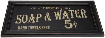 >amazon vintage soap water bathroom wall art only 10 77 reg  amazon vintage soap water bathroom wall art only 10 77 reg 22 32