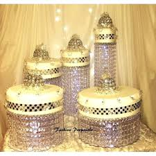 acrylic cake stands wedding chandelier crystal waterfall rain all the way down set of 5 acrylic acrylic cake stands