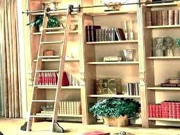 rolling bookshelves library bookshelf with ladder kit bookcase large size of home book shelves shelving on