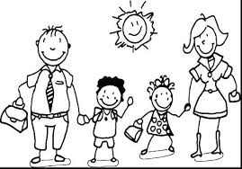 Coloring Pages For Family Coloring Pages Family Family Color Pages