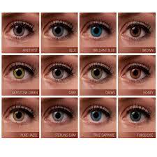Freshlook Color Chart For Dark Eyes Freshlook Colorblends