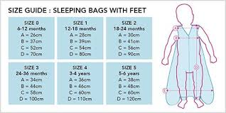 Grobag Sleeping Bag Size Chart Choosing The Right Sleeping Bag For Your Baby