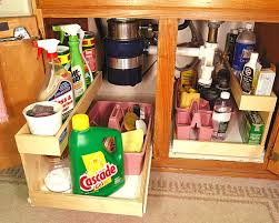 Under The Kitchen Sink Storage Pull Out Shelves Kitchen Pantry Cabinets Bravo Resurfacing