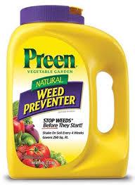 preen natural vegetable garden weed