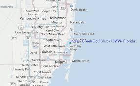 Indian Creek Golf Club Icww Florida Tide Station Location