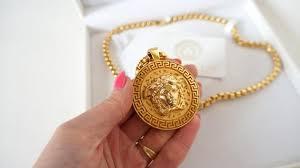 versace huge medallion medusa head in