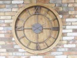 large wood wall clocks clocks vintage wall clocks for uk elmhomeandgarden co