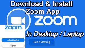 Install Zoom App in Laptop/PC ...