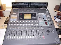 yamaha 02r. this is a yamaha 02r recording console with meter bridge, 2 tdif cards, aes/eb yamaha 02r s