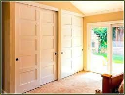 double sliding closet doors hanging door track installing