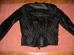 hd women s competition leather jacket sz large