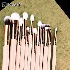 wholesale makeup brushes. vander 12pcs rose gold wood handle kabuki makeup brush set wholesale , find complete details about brushes s