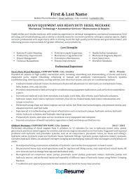 Diesel Mechanic Resume Download Diesel Mechanic Resume Iti Diesel