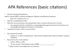 Ppt Formatting And Citing With Apa And Mla Powerpoint Presentation