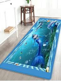 mermaid area rug affordable mermaid dolphin pattern anti skid water absorption area rug
