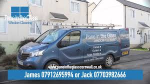 pane in the glass cornwall window cleaning and power pressure washing