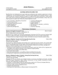 Resume Objectives For Nurses