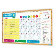Magnetic Responsibility Reward Chart Set Flexible Dry