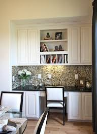 kitchen office. what about doing something like this in the dining room rather than a hutch as kitchen office g