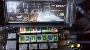 dodge ram van questions unmarked fuse blows van quits cargurus box diagram shown in photo and i don t see anything written in the owners manual any help to determine what this fuse