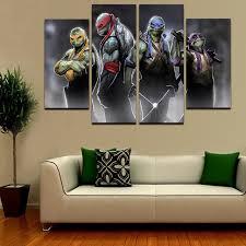 ninja turtle canvas wall art