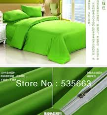 solid green duvet cover queen solid light green duvet cover 4pc 100 cotton solid color purple