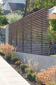 SHED Architecture & Design - Modern Architects Seattle - Portage Bay  Yardscape privacy fence