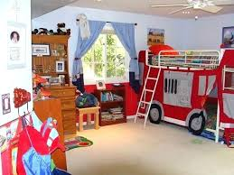 fire truck room decor boys bedroom looks like a fire truck station decorated phoenix home house fire truck