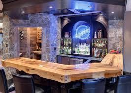 Entertainment Bars For Home Inwood Contemporary Black Home - Home liquor bar designs