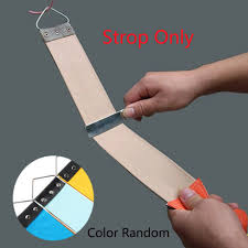 leather sharpening canvas strop for barber open straight razor sharpening shave for