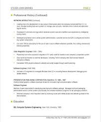 Software On Resume Awesome Sample Resume Of Software Engineer Administrativelawjudge