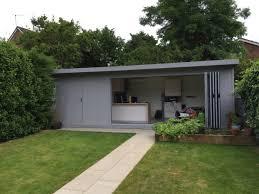 summer house office. Sleek \u0026 Impressive 7,5m X 3,1m Bi-fold Garden Office With Summer House O