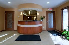office front desk design. Dental And Medical Office Renovation Construction In Toronto Reception Desk Designs Gta General Contractors Full Front Design