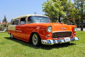Covering Classic Cars : 1955 Chevy Handyman Wagon from our August ...