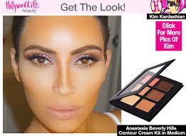 anastasia the first look at kim kardashian does using contouring makeup