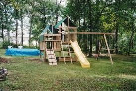 Swing Set Designs Diy Gemini Diy Wood Fort Swingset Plans