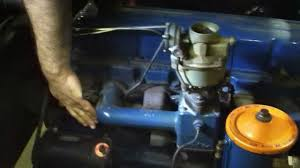 1956 Chevrolet 6 Cylinder (MOTOR ONLY)- FOR SALE! - YouTube