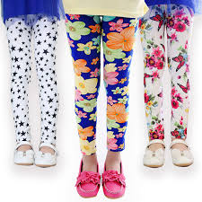 Girls Patterned Leggings