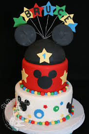 Mickey Mouse 1st Birthday Cake Phd Serts Cakes