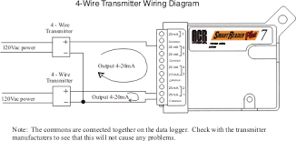 srp transmitter connection 4 wire support acr systems data 4 wire transmitter connection diagram for smartreader plus srp transmitter connection
