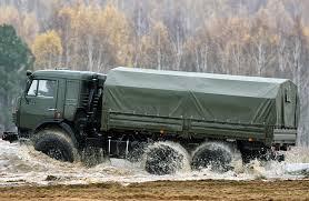 Военный Камаз Технические Характеристики и Расход Топлива  КамАЗ 5350 на бездорожье