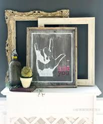 sign age i love you framed wood sign 18 21
