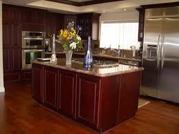 Cherry Cabinet Kitchens Cherry Cabinets Kitchen Colors Cliff Kitchen