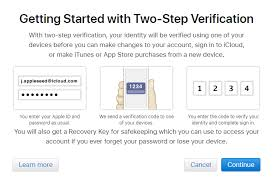 Icloud Security Code Outlook And Two Step Verification For Icloud Msoutlook Info