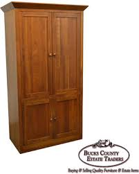 Marvelous Ethan Allen American Impressions Solid Cherry TV Armoire Media Cabinet