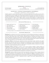 Cover Letter Resume For Mba Application Resume For Mba Program
