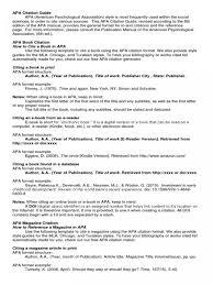 Apa Maker Free 010 Apa Reference Page Citation Generator Format Template